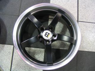 19 BREMMER KRAFT BLACK WHEELS TIRES RIMS MERCEDES BENZ, AUDI