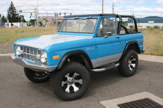 1966 1977 Early Ford Bronco TBP Ultraflex Fender Flares