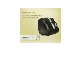 brookstone usqueez pro calf ankle and foot massager by osim