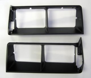 Buick Regal Grand National T Type GNX Black Headlight Bezels 1984 1987