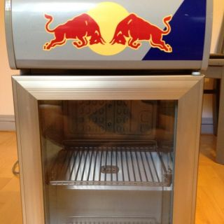 Red Bull Energy Drink Mini Fridge Cooler Refrigerator