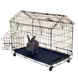 aire A Frame Bunny House 29 5 L x 16 5 W x 24 H Bunny Rabbit Cage