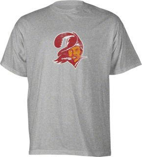Bay Buccaneers Classic NFL Throwback Bucco Bruce Logo T Shirt
