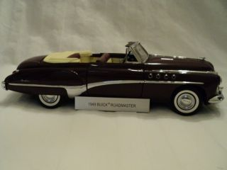 Franklin Mint 1949 Buick Roadmaster Convertible LIMITED EDITION