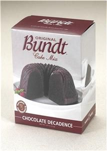 Chocolate Decadence Nordic Ware Gourmet Bundt Cake Mix
