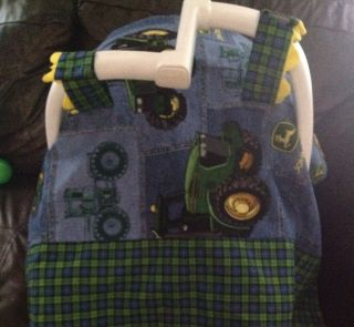 Baby Boy John Deere Infant Car Seat Cover for Baby
