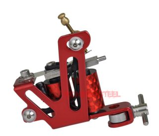 Candy Apple Red Enamel Cut Back Liner Tattoo Machine US