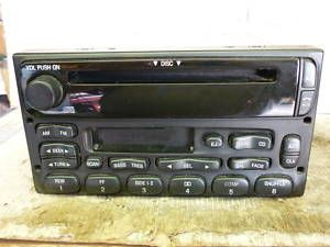 03 Ford Ranger F150 Windstar Radio CD Cassette Player 1F2F 18C868 AA