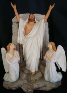 Franklin Mint Resurrection Porcelain Sculpture By Carl Bloch