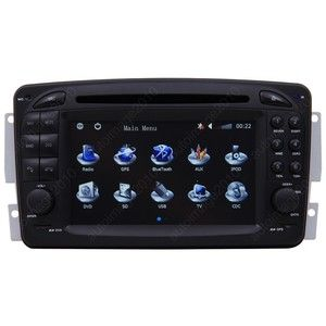 Mercedes Benz M ml Class W163 Car GPS Navigation DVD TV