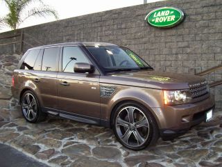RANGE ROVER SUPERCHAGED STYLE 5X120 GUN METAL MACHINED FACE RIM WHEELS