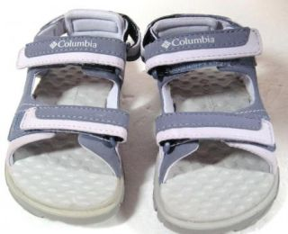 NEW Columbia Girls Castle Point Purple Sandals Youth Size 8