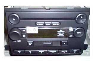 Ford Freestar Mercury Monterey CD Cassette Radio 6F2T 18C868 FB New