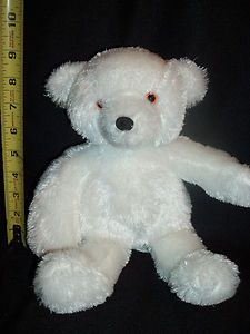 Cepia Glo E COLOR KINETICS Rainbow Light Up White TEDDY BEAR Stuffed
