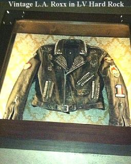 Madonna Custom Hand Painted Leather Collectors Rocker Jacket REDUCED
