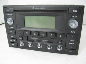CD PLAYER RADIO DOUBLE DIN MONSOON VW JETTA GTI GOLF PASSAT 01 05 FOR