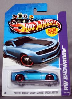 Hot Wheels Showroom 2013 HW Chevy Camaro Special Edition