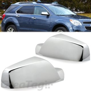 2010 2012 Chevy Equinox GMC Terrain Triple Chrome Mirror Cover Set