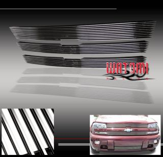 02 05 Chevy Trailblazer Front Upper Bumper Grille Insert Combo 03 04