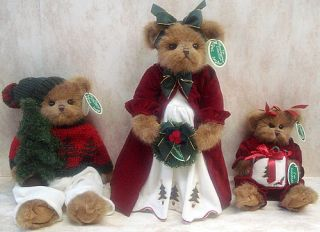 Bearington Bear Douglas Fir Plush Christmas Tree 173015