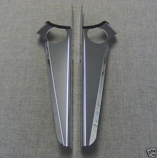 HARLEY STREET GLIDE CHROME WIND DEFLECTORS AWESOME USA MADE NEW