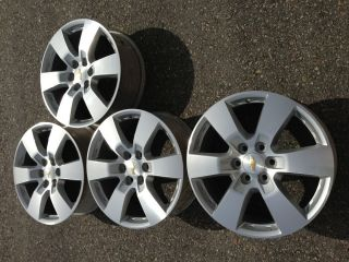 CHEVROLET TRAVERSE gmc acadia 20 FACTORY OEM STOCK WHEELS RIMS