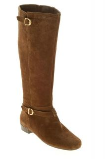 Circa by Joan David New Hearty Womens Knee High Boots Brown Suede 7 5