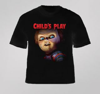 Childs Play Horror Chucky Movie T Shirt