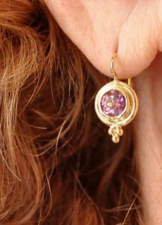 Magnificent New $2 300 Temple St Clair 18K Gold Pink Tourmaline