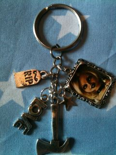 Tiffany Childs Play Bride of Chucky Horror Keyring