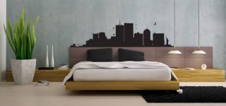 New York Skyline Big Apple Wall Art Sticker Large Decal