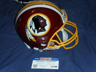 Clinton Portis Signed Proline on Field Game Helmet PSA DNA Authentic