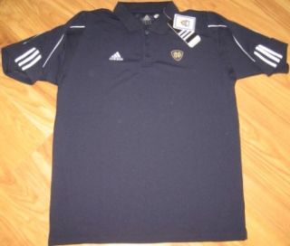 Adidas Notre Dame Fighting Irish Coaches Polo Shirt L