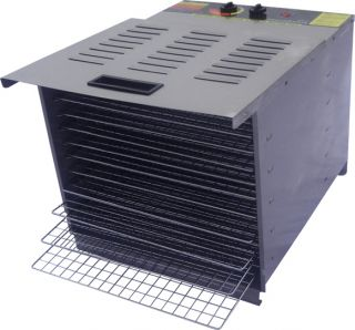 1200W Food Dehydrator 10 Tray EZ Stainless Steel Commercial Grade