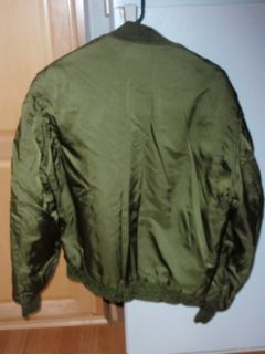 USMC Marine Corp Flying WEP Jacket, Coat Robert Anderson with Patches