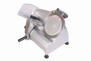 BRAND NEW 10 BLADE COMMERCIAL ELECTRIC MEAT SLICER SEMI AUTOMATIC b6