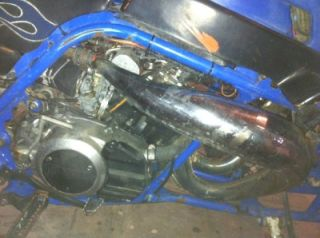 RUNNING ENGINE/ MOTOR, COOL HEAD, COMPLETE YAMAHA BANSHEE  YFZ 350 ATV