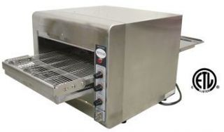New Commercial Kitchen Pizza Conveyor Toaster Oven