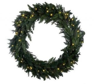 BethlehemLights Solutions Oversized 36 Wreath w/ 60 LEDs & Timer