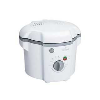Rival CF106 w 1 Liter Cool Touch Deep Fryer White