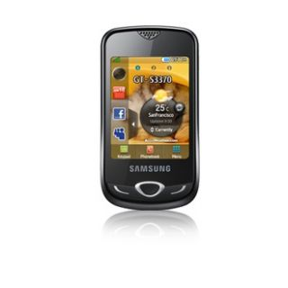 Samsung Corby S3370 3G Black Unlocked Cellular Phone