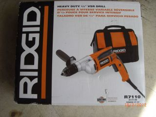 R7110 1 2 Heavy Duty Corded Variable Speed Electric Drill New