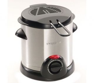 Presto Stainless Steel 1 Liter Deep Fryer —