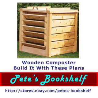 Wooden Composter   Build It With These Plans   CD
