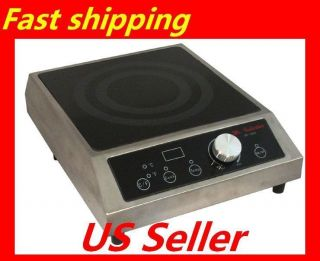 Glass Cooktop 1800W Countertop Induction Range 1 20 Levels
