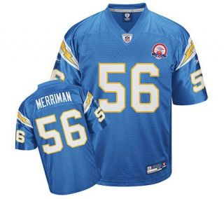 NFL San Diego Chargers AFL 50th Anniv. Shawne Merriman Jersey