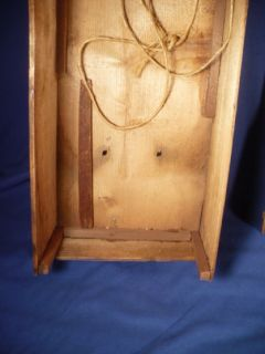 Antique German Wood Doll Shipping Box Crate w Lid Labels Fine Jointed