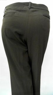 Covington Plus Womens 20W Stretch Flat Front Dress Flare Pants Mid