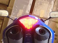 CBR600RR Integrated LED Tail Light Smoke Lens 07 10
