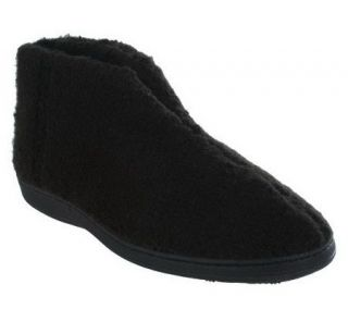 Acorn Indoor/Outdoor Cozy Bootie Slippers with Memory Foam —